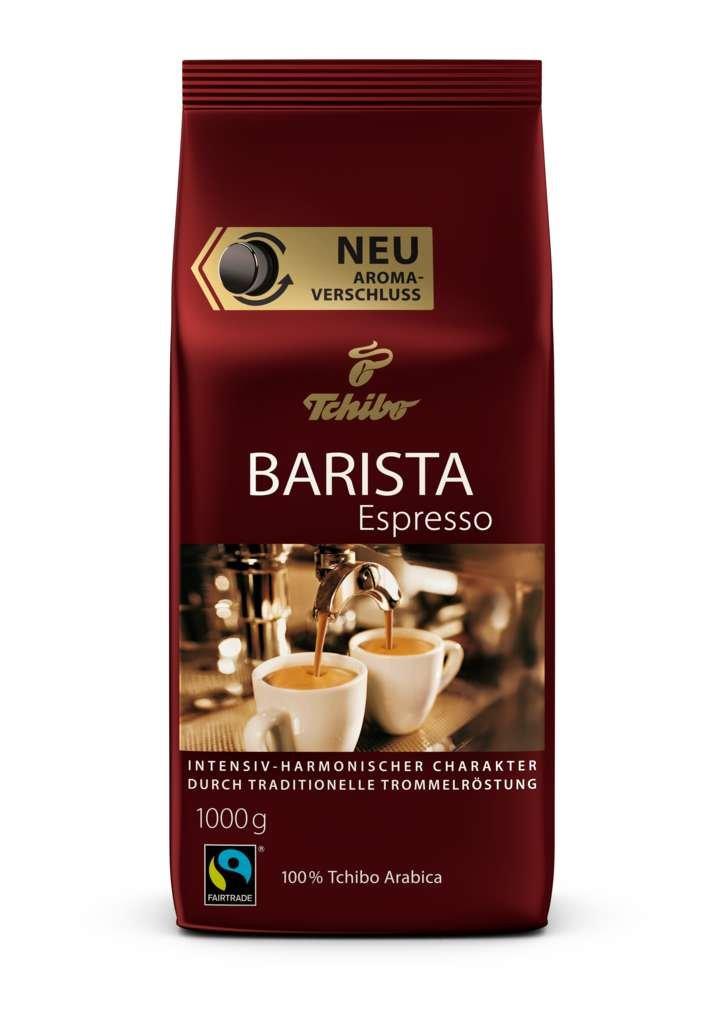 Tchibo Barista Espresso 1Kg ganze Bohne - Kaffee-Genuss für ...
