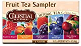 Celestial Seasonings Herbal Tea, Fruit Tea Sampler, 18 Count (Pack of 6)
