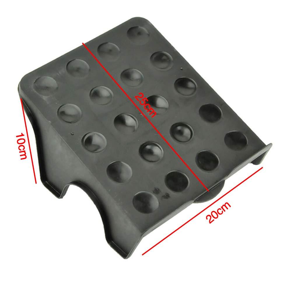 BIKITIQUE Creativo Superior e Inferior 2 Capas de Almacenamiento de Zapatos Rack DIY Acabado Zapato Rack Color al Azar