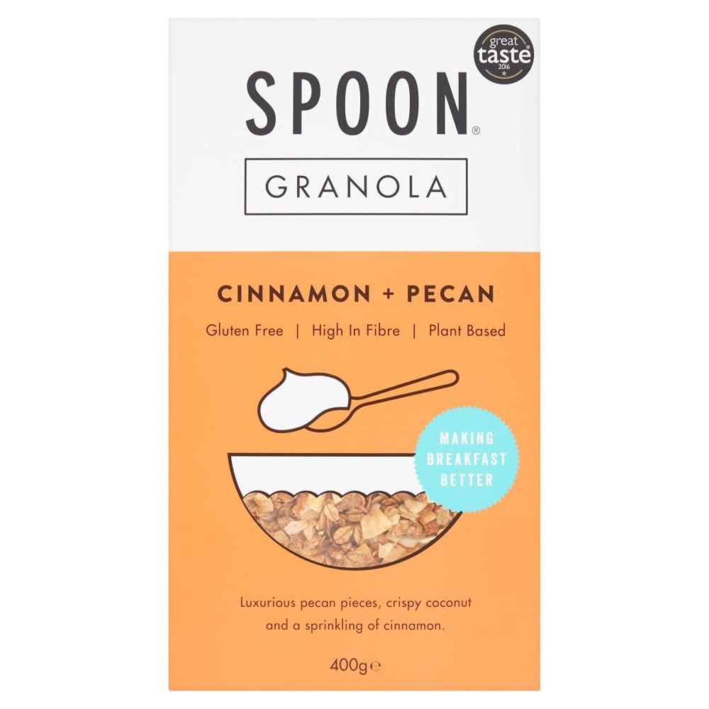 Spoon Cereals Cinnamon and Pecan Granola, 400g