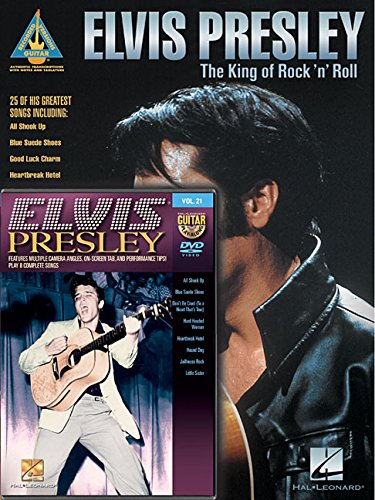 Elvis Presley Guitar Pack: Includes Elvis Presley - The King of Rock 'n' Roll book and Elvis Presley Guitar Play-Along DVD (Recorded Versions - Guitar Play-along)