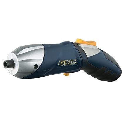 GMC DEC002SD - Atornillador inalámbrico 3,6 V: Amazon.es: Bricolaje ...