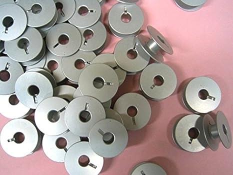 Cutex marcas 20 aluminio bobinas para Máquinas de Coser doméstico ...