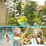 Fan Bubble Machine,Mamum Summer Funny Magic Bubble Blower Machine Bubble Maker Mini Fan Kids Outdoor Toys