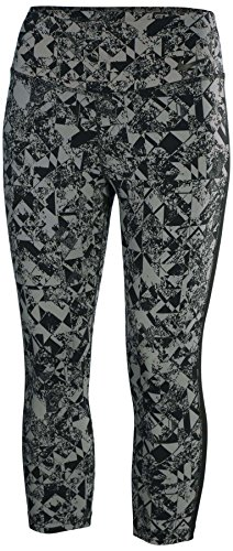 Nike Women's Legendary Jewels Tight Training Capris-Cool Gray/Black-XS