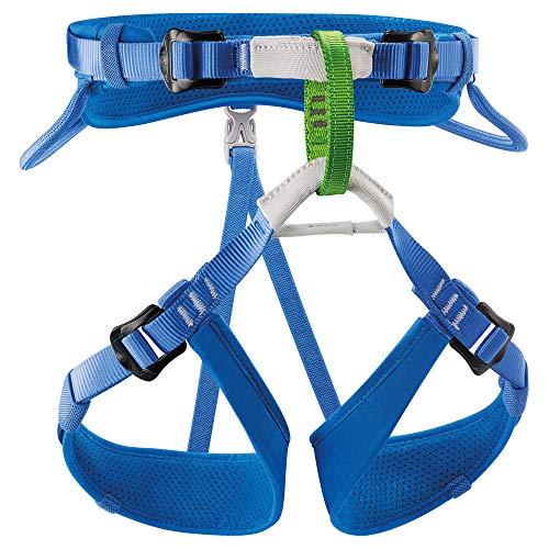 Petzl Kids' Macchu Seat Climbing Harness Blue ONESIZE (Best Climbing Harness 2019)
