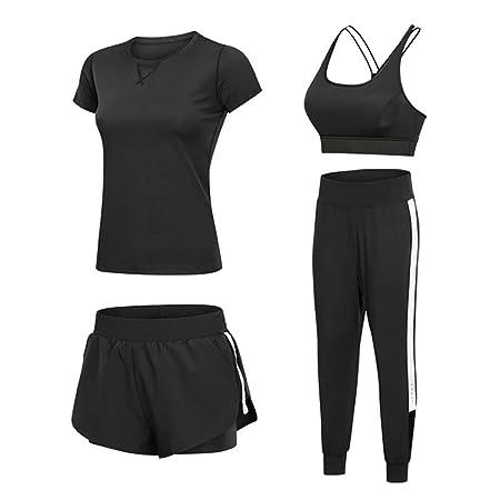 YKKHHCD Conjunto Deportivo De Yoga para Mujer, Ropa ...