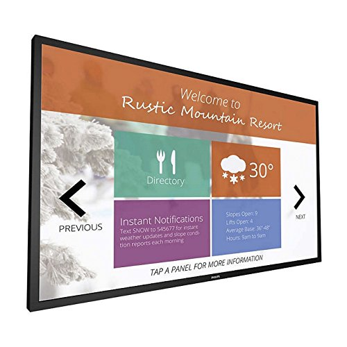 """PHILIPS Envision Signage Solutions 43BDL4051T - 43"""" Class (42.5"""" viewable) LED Display - Digital Signage - with Touch-Screen - 1080p ("""