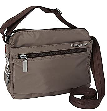 top-rated genuine variety styles of 2019 convenience goods Hedgren Eye, Crossbody Shoulder Bag, Purse with RFID Blocking Pouch, 8.5 x  3.5 x 7.4 Inches, Small, Womens, Sepia/Brown