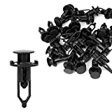 fender toyota camry 2001 - uxcell 30 Pcs Push-Type Automotive Clips Rivet Retainer Fender Bumper Fasteners Clips Ref# 52161-02020 for Toyota