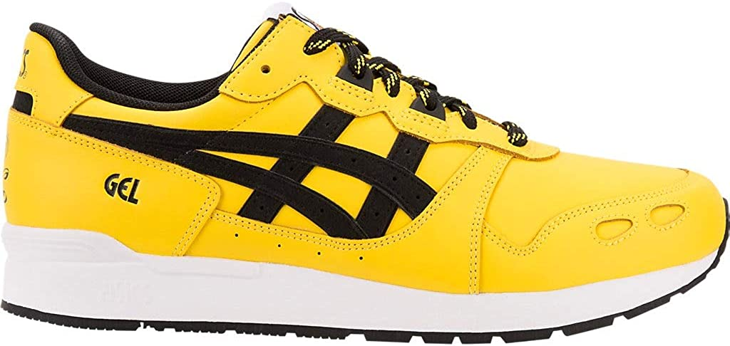 ASICS Tiger Men s Gel-Lyte Tai Chi Yellow Black Ankle-High Mesh Sneaker – 10.5M