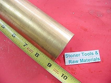 "Round rod 12/"" long 1/"" Brass C360 h02 solid brass bar new lathe bar stock 1.00/"""