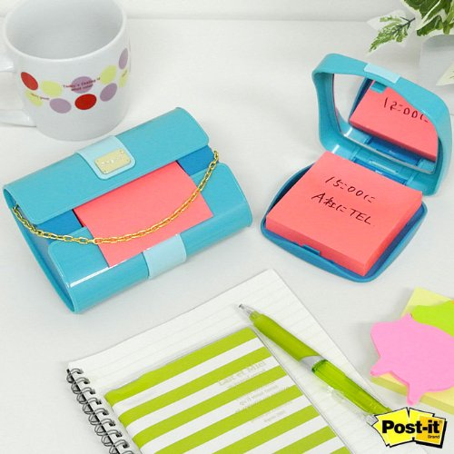 Amazon.com : Post-it Pop-up Notes Dispenser for 3 x 3-Inch Notes, Clutch Purse style : Sticky Note Dispensers : Office Products