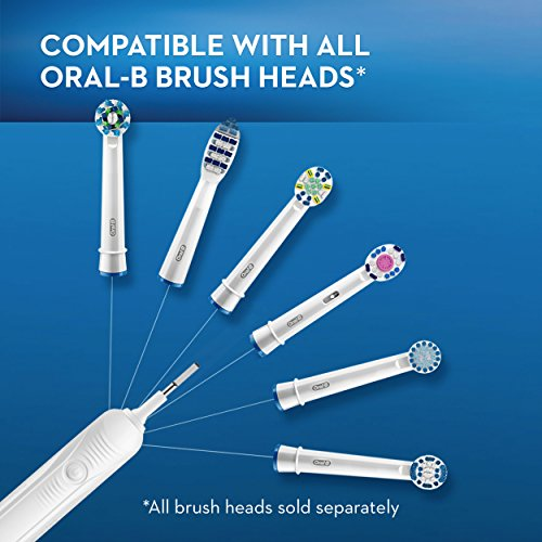 Oral-B White Pro 1000 Power Rechargeable Electric Toothbrush, Powered by Braun by Oral-B (Image #6)