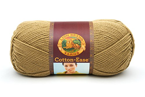 (Lion Brand Yarn 830-132I Cotton-Ease Yarn, Cactus, 1 Skein)
