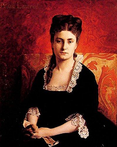Portrait de Femme by Jean-Paul Laurens - 20
