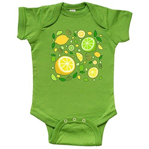 inktastic Lots of Lemons and Limes- Infant Creeper 6 Months Apple Green (Apple Sweet Peel)