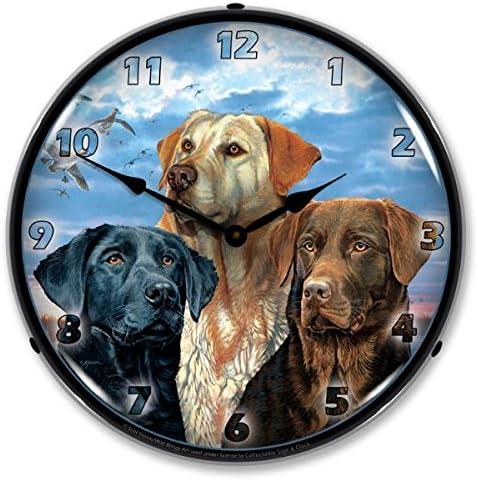 Labrador Retriever Modern Wall Clock