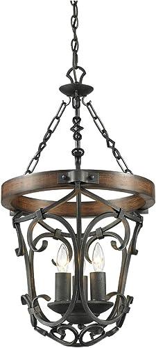 Golden Lighting 1821-3P BI Chandelier