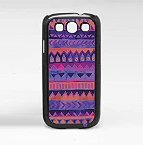 Colorful Pink and Purple Tribal Pattern Hard Snap on Phone Case (Galaxy s3 III)