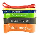 Cheap Blue Mar Crossfit Band/Pull Up Assistance Band/Power Lift Resistance Band/Exercise Band/Fitness Band/Stretch Band/Workout Band (Blue.75 (3/4″) Width) Buy ONE GET ONE Free