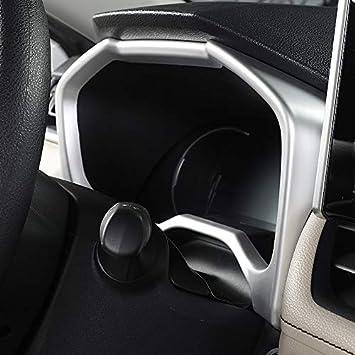HIGH FLYING f/ür RAV4 2019 2020 Interieur Armaturenbrett Dekor 1 St/ück ABS Kunststoff Kohlefaserfarbe