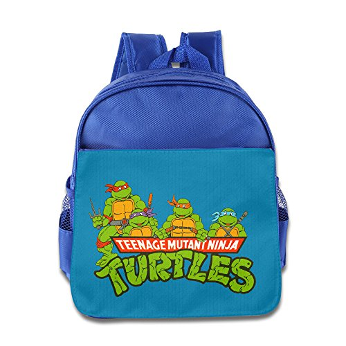 Teenage Mutant Ninja Turtles Tmnt 2 Toddler School Backpack RoyalBlue