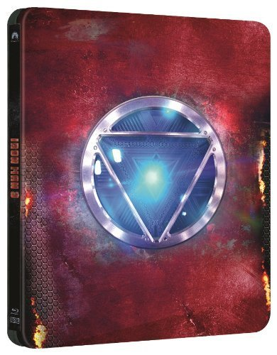 Iron Man 3 - Limited Edition Steelbook [Blu-ray] - Iron Man Steelbook