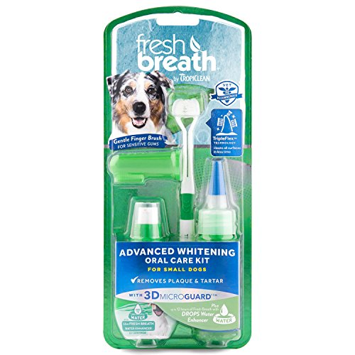 Fresh Breath Toothbrush (Fresh Breath Advanced Whitening Oral Care Kit for Small Dogs)