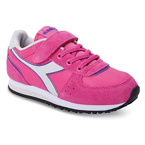 Diadora - Zapatillas de Material Sintético para niño 50159 MAGENTA