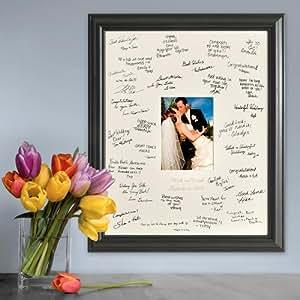 Amazon Com Personalized Gift Wedding Wishes Signature