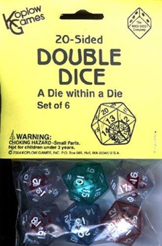 お歳暮 11 Pack DOUBLE KOPLOW GAMES INC. 20 20 SIDED DOUBLE DICE Pack B004LD57R8, Lives:6bf28096 --- cliente.opweb0005.servidorwebfacil.com