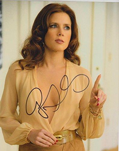 Amy Adams (American Hustle) signed 8x10 photo