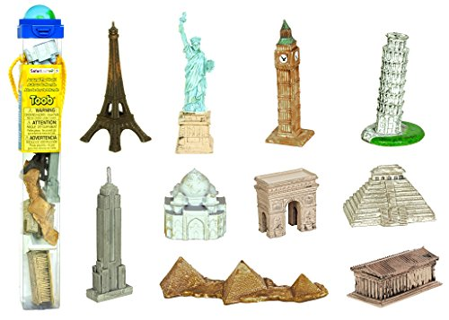 the World TOOB, 10 Figurines (Famous Buildings)