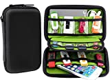 Aprince Digital Gadget Case Waterproof Memory Card Case,Designed For External Hard Drive,USB Flash Drives,Power Banks - Best for Traveling