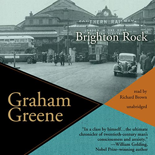 Which are the best brighton rock audio book available in 2019?