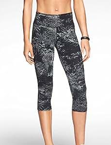 Nike Women's Dri-Fit Legendary Capri Tight Pants Gray Large