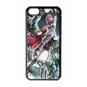 Final Fantasy iPhone 5c Cell Phone Case Black Vvbgy