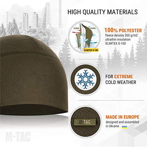 M-Tac Watch Cap Fleece 260 Slimtex Mens Winter Hat Military Tactical Skull  Cap Beanie 55458d73b26d