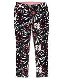 Gymboree Little Girls' Daisy Knit Pant, Multi, 5
