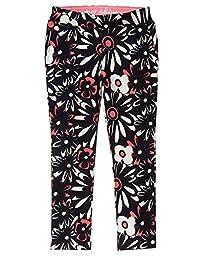 Gymboree Big Girls\' Daisy Knit Pant, Multi, 8