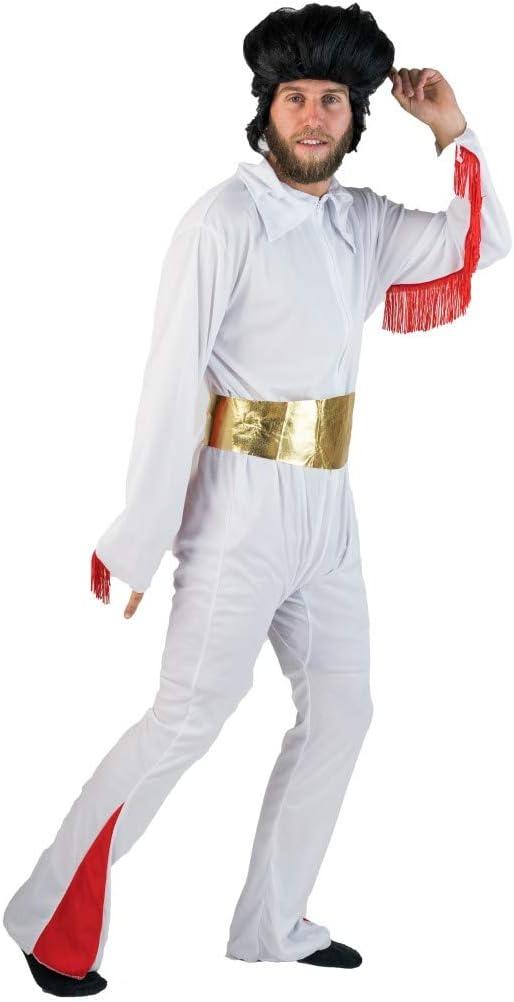 Bodysocks® Disfraz de El Rey de Las Vegas Rockstar para Adulto ...