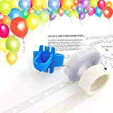 Keklle Balloon Arch Garland Decorating Strip Kit, Reusable Balloon Tape Strip 16ft, Tying Tool, Dot Glue, Super Easy to Make Balloon Arch Garland (3)