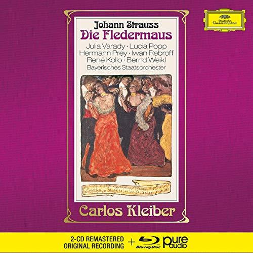 Strauss - Die Fledermaus [2 CD/Blu-ray Audio]