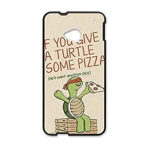 TMNT Teenage Mutant Ninja Turtles Black htc m7 case