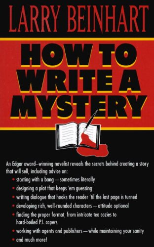 how to write a mystery thriller novel