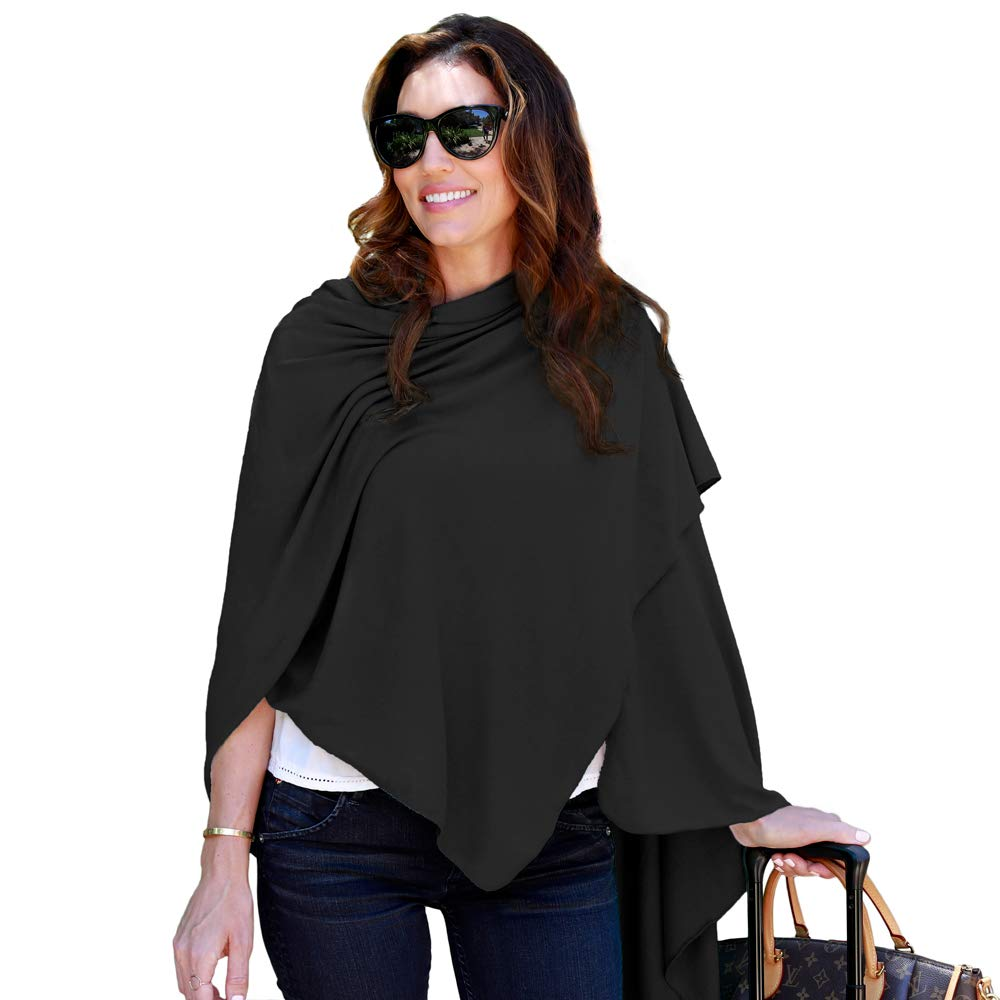 HappyLuxe Travel Wrap and Blanket  Eco Friendly Accessories for Women  Made in USA