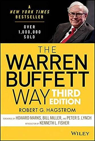 the warren buffett way robert g hagstrom 9781118503256 amazon rh amazon com warren buffett books about investing warren buffett books free