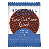 Stonewall Kitchen Cocoa Salted Caramel Waffle Cookie, 1.1 ounce