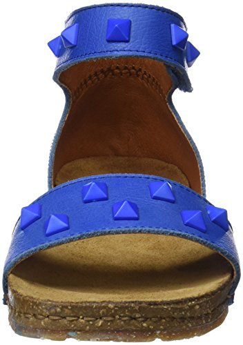 Donne Sandali mare Mare Cinghia 1251a Delle Creta Caviglia Memphi Arte Blu rzYrvq